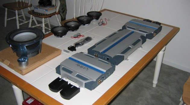 Amplifiers (yes more than one) and mounting