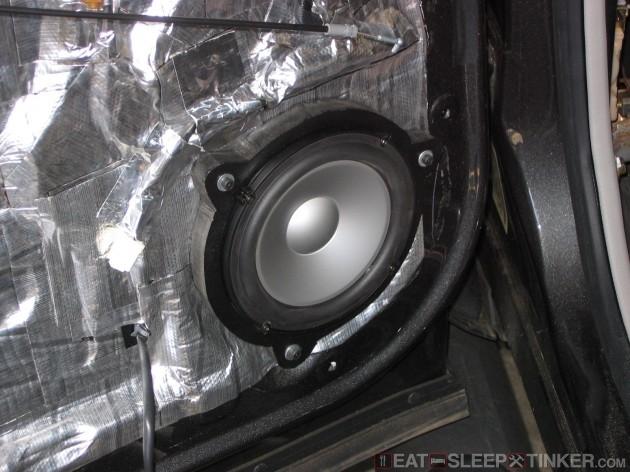 """Rear 6.5"""" Infinity Speaker"""
