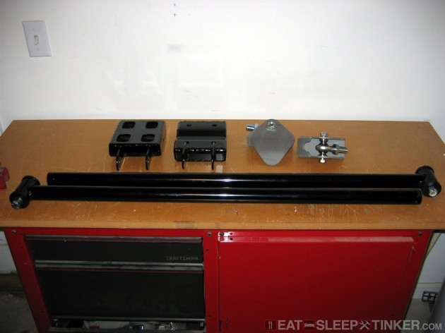PRG Traction Bar Components