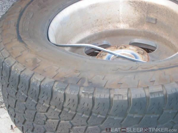 Catastrophic wheel failure