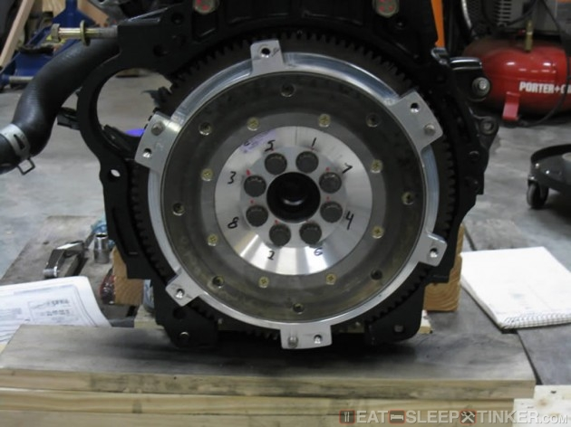 ACT Aluminum Flywheel