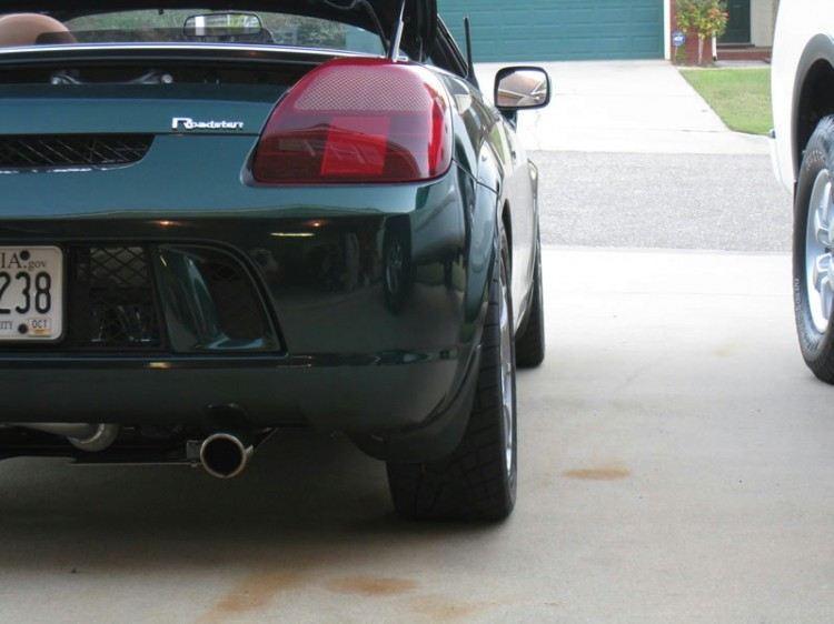 Spacers Right Rear