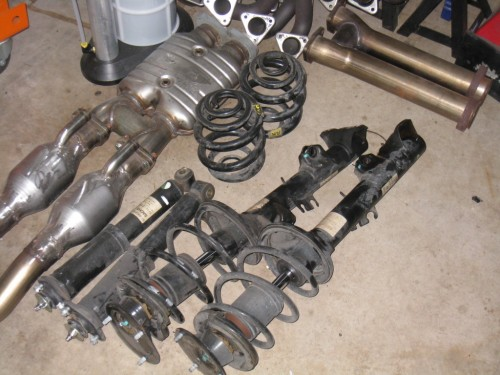 M Coupe Suspension Overhaul