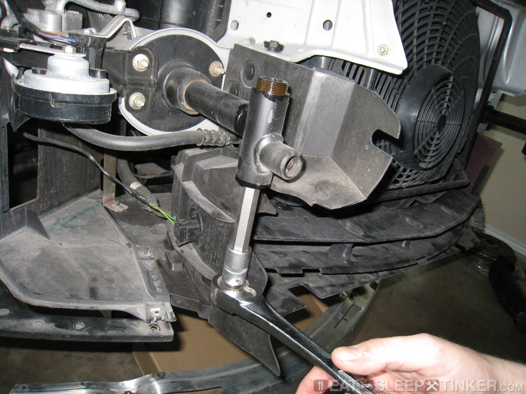 Eat Sleep Tinker M Coupe Front Bumper Shaved Installed Gaps Adjusted Eat Sleep Tinker