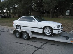 M3 on the trailer, at home