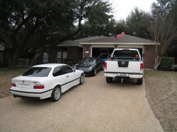 All in the driveway