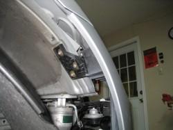 Bumper corner adjustment