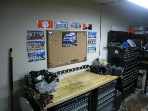 Garage Feng Shui… on a budget.
