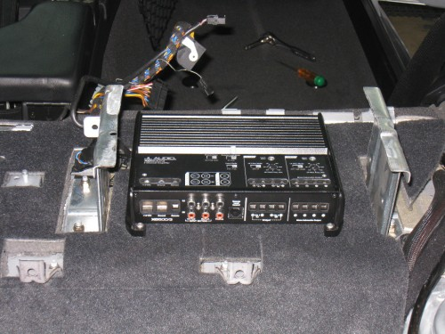 New/Old Amplifier & Crossover Rack
