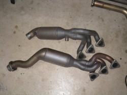 S54 Supersprint Stepped V2 Headers and High Flow Cats