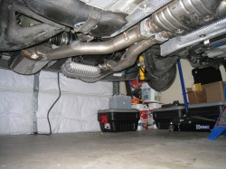 Center silencer to Supersprint mufflers