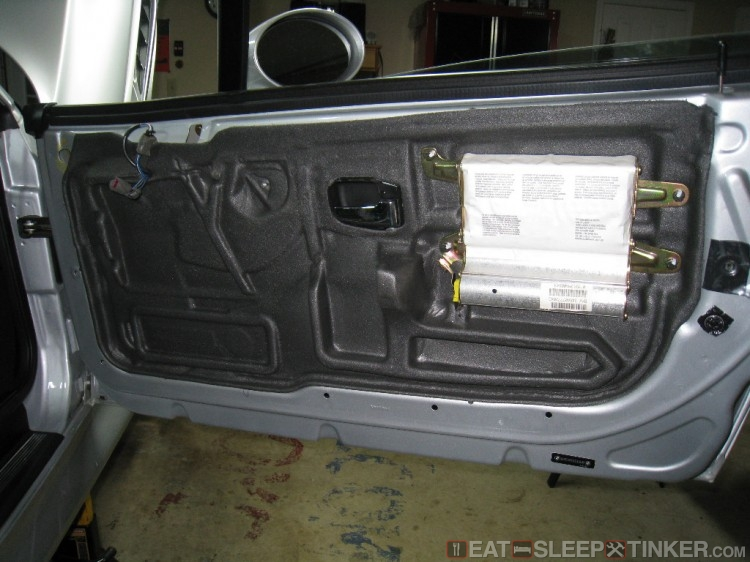 Door Card Removed