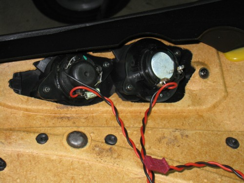 Installing Hybrid Audio Technology Tweeters into M Coupe Stock Location