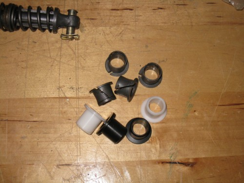 Stock Pedal Bushings vs Delrin Bushings