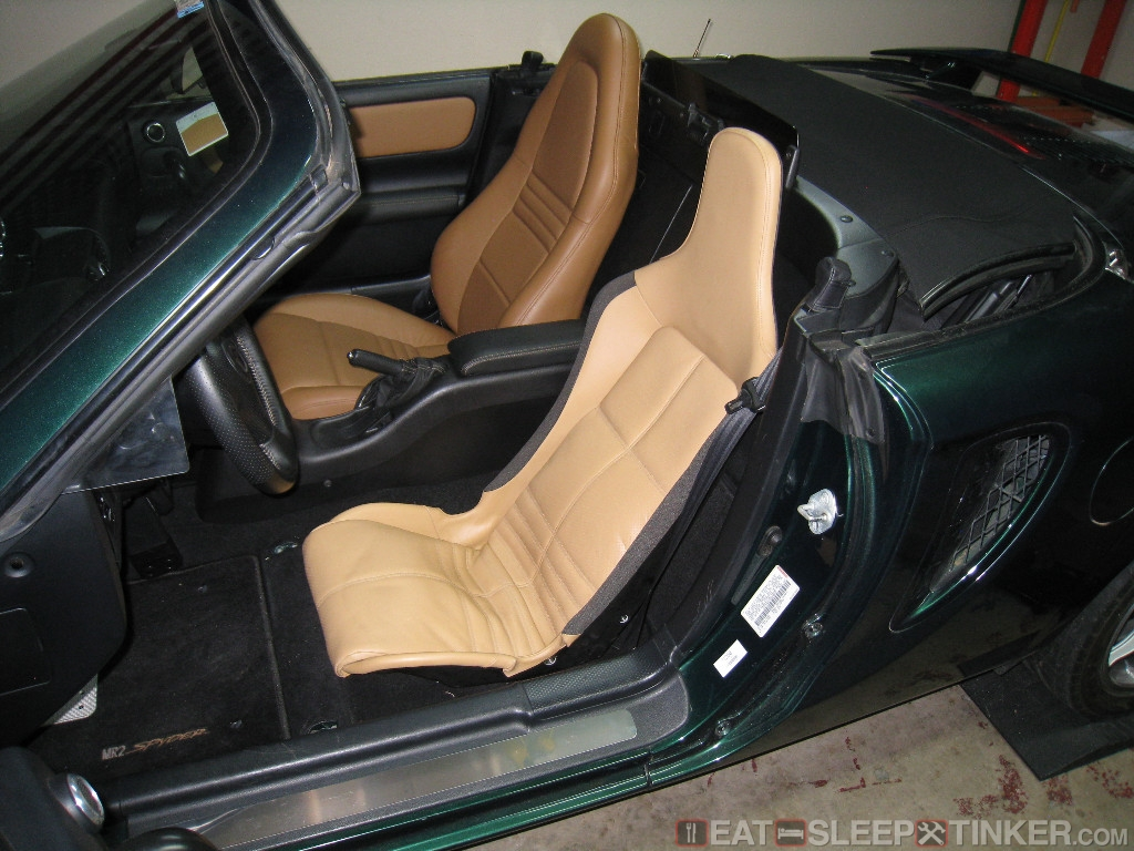 eat sleep tinker lotus elise seats in a toyota mr2 spyder eat sleep tinker. Black Bedroom Furniture Sets. Home Design Ideas