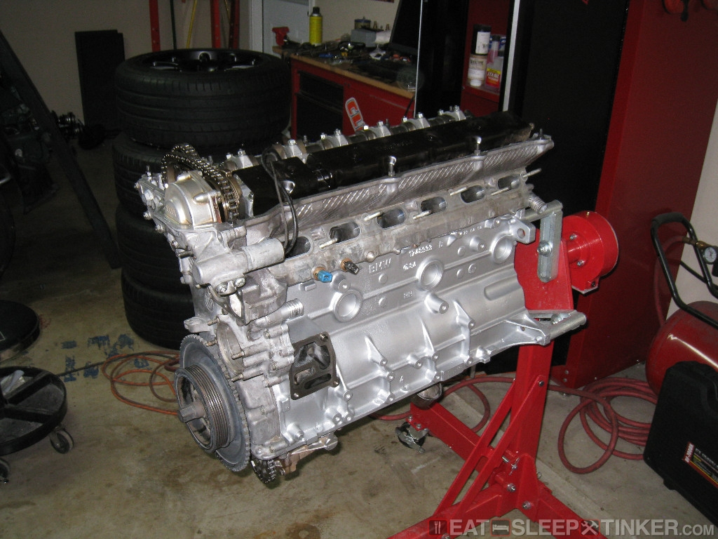 Eat Sleep Tinker Bmw S50 Race Engine Clean Up And