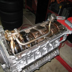 Eat, Sleep, Tinker BMW S54 oil pan and dual pick-up pump