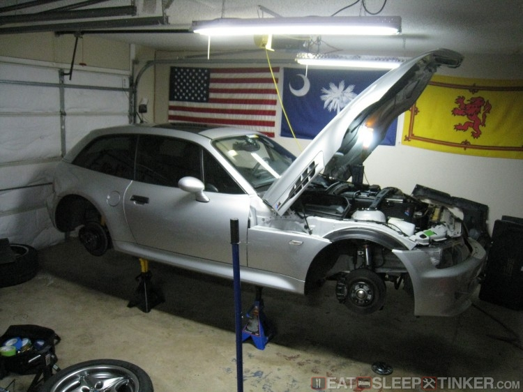 M Coupe back in for some work