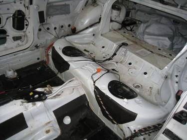 Gutted Rear Seats