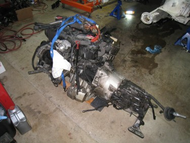 Engine Removed