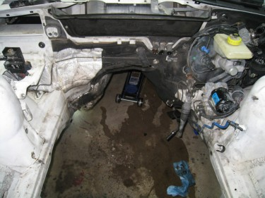 Empty Engine Bay