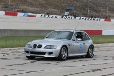 M Coupe pit lane at TWS
