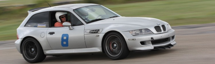 Dad in M Coupe at TWS