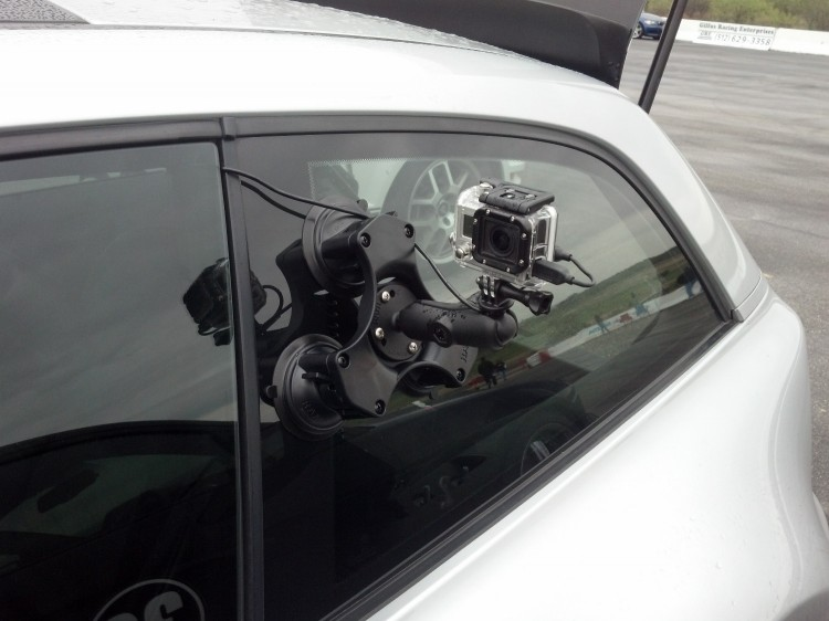 RAM tripple suction mount