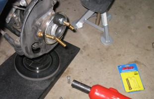 Installing studs