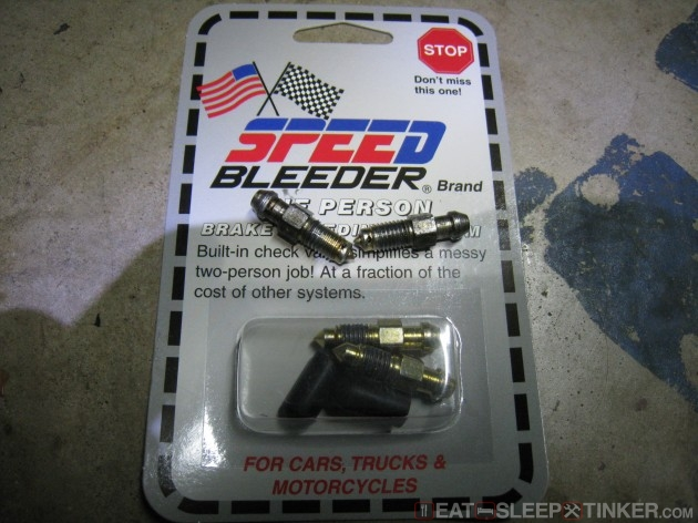 Speed Bleeder Packaging
