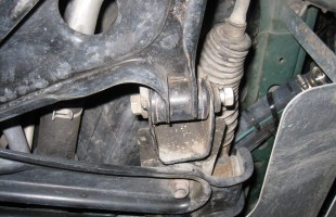 Loose Control Arm Bolt