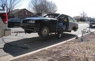 Trailer Under Car