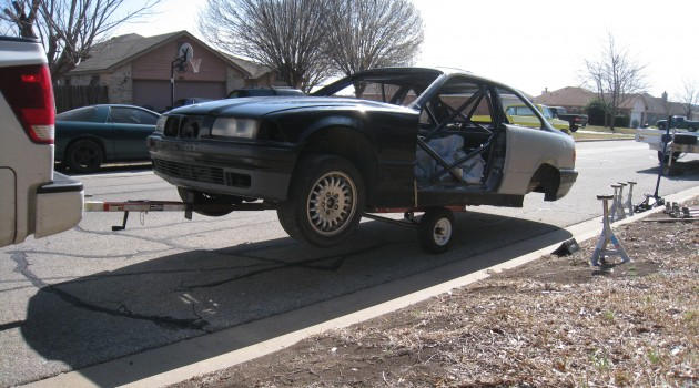 Moving a Bare Chassis