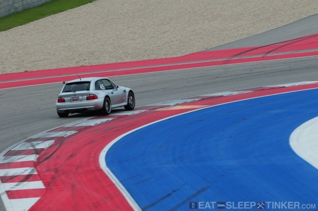 BMW M Coupe at COTA