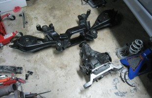 Rear-Subframe Reassembled