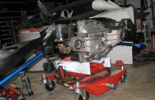 Subframe Together with Differential