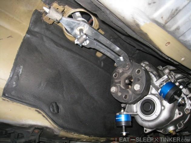 Bear Motorsport Shifter Installed