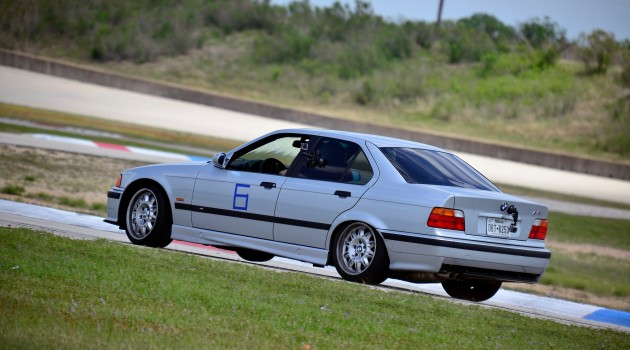 M3 Sedan Shake-Down at Texas World Speedway