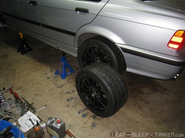 Test fitting Nitto NT01s