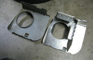 OEM and Achilles Oil Pan Baffles