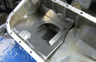 Achilles Oil Pan Baffle Welded