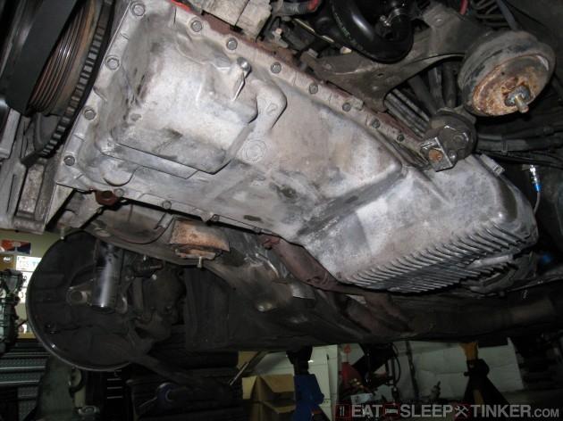S52 Oil Pan Reinstalled
