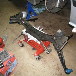 Front Subframe with new Control Arms and Engine Mounts