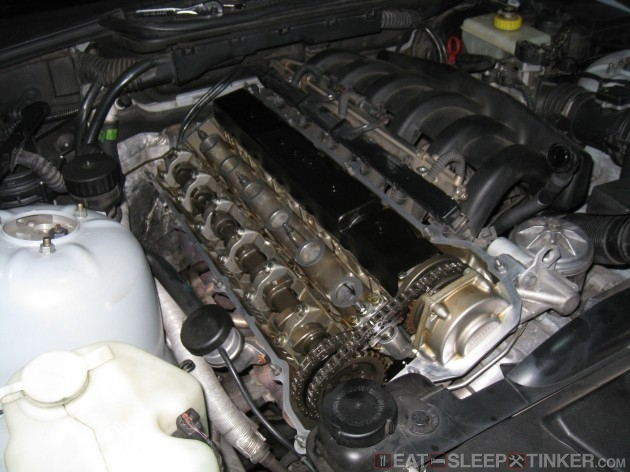 S52 Valve Cover Removed