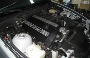 Engine Cover Installed