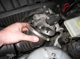 Removing Intake Boot