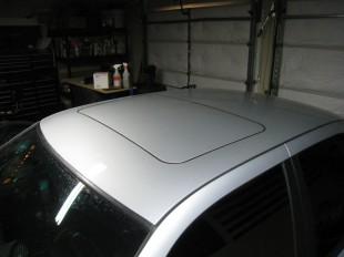 Exterior Sunroof Panel