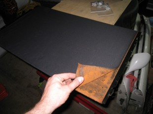 Pealing Sunroof Liner