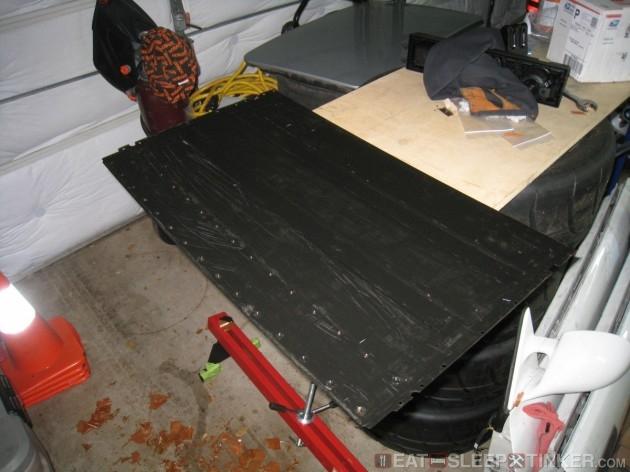Clean Sunroof Inner Panel