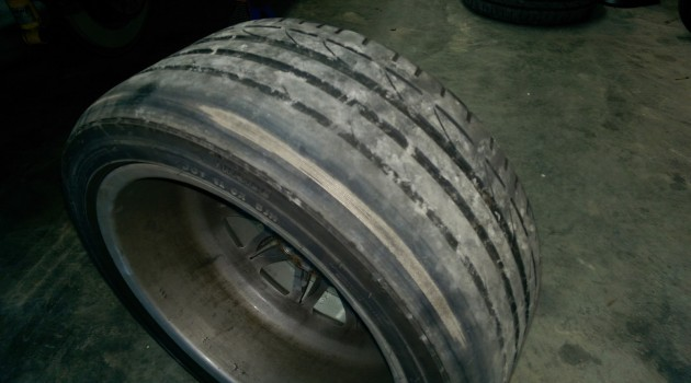 Bad Alignment = Corded Tires